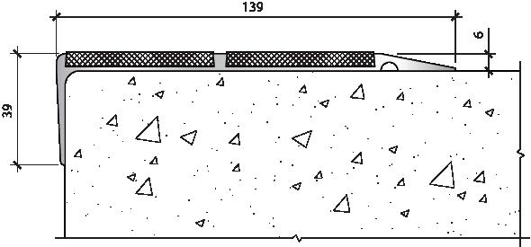 PLINTO SEA 139x39