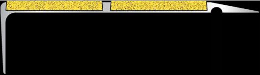 заполнитель «Ласточкин хвост» жёлтый